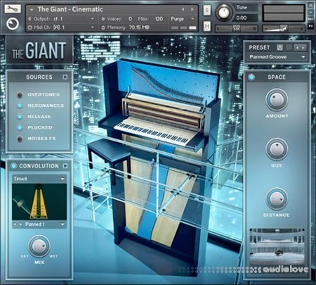 Native Instruments The Giant v1.2 KONTAKT