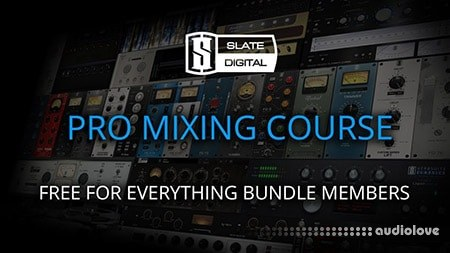 Slate Digital Everything Bundle Session Package (Rock Edition) PROPER TUTORiAL DAW Templates