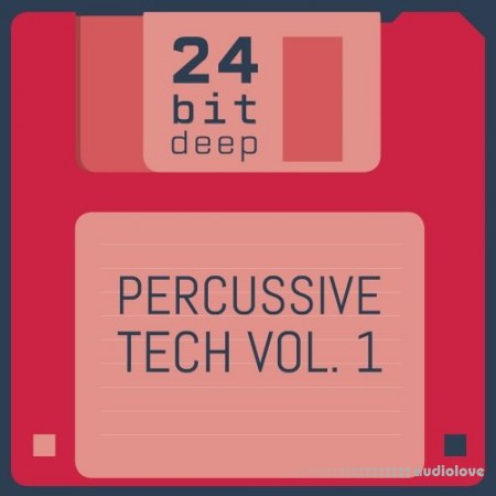 24 Bit Deep Percussive Tech Vol.1 WAV