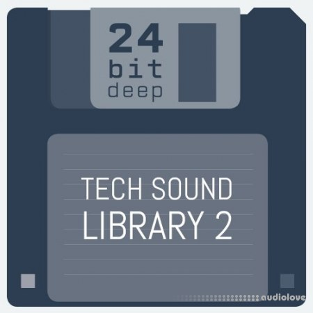 24 Bit Deep Tech Sound Library 2 WAV