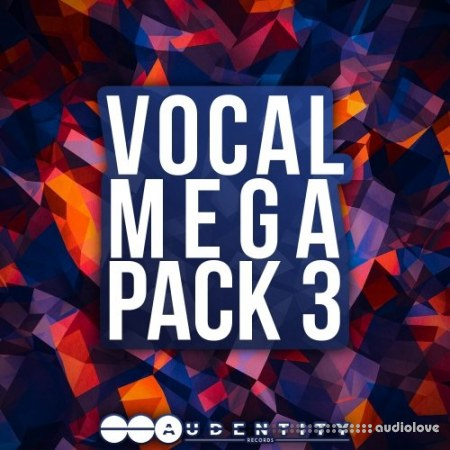 Audentity Records Vocal Megapack 3 WAV MiDi Synth Presets