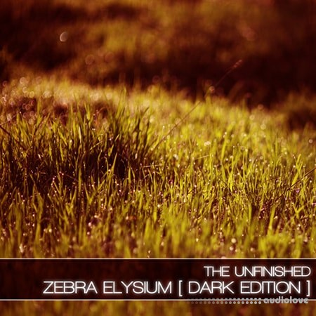 The Unfinished Zebra Elysium Dark Edition Synth Presets