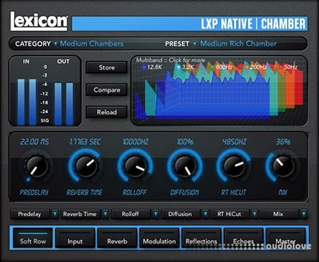Lexicon MPX Native Reverb v1.0.5 / v1.0.2 WiN MacOSX