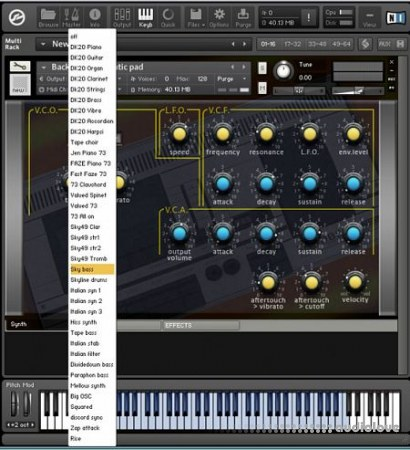 Synth Magic Tandberg KONTAKT