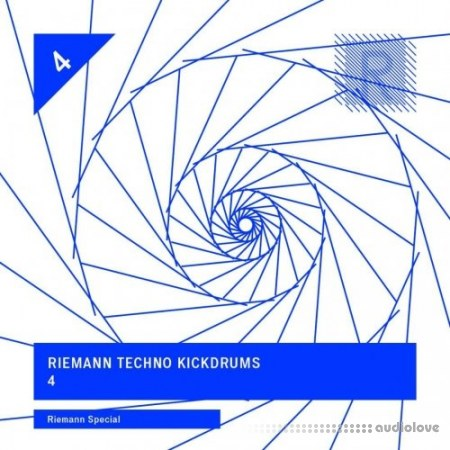 Riemann Techno Kickdrums 4 WAV