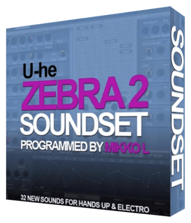 Mikko L Zebra 2 Soundset Synth Presets