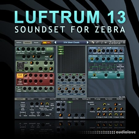 Luftrum Sound Design Lufrum 13 Synth Presets