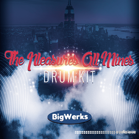 BigWerks The Pleasures All Mines Drum Kit WAV