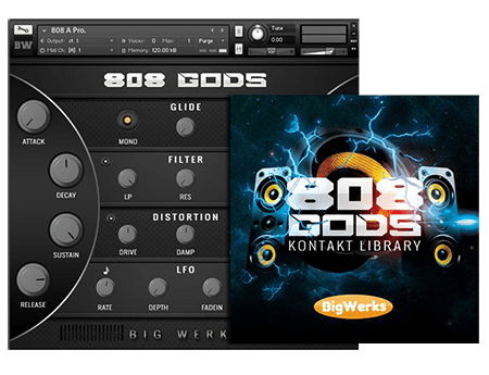 BigWerks 808 GODS KONTAKT