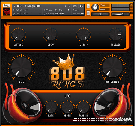 BigWerks 808 KINGS KONTAKT