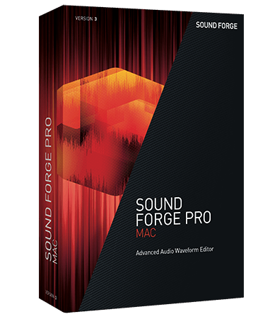 MAGIX SOUND FORGE Pro Mac v3.0.0.100 MacOSX