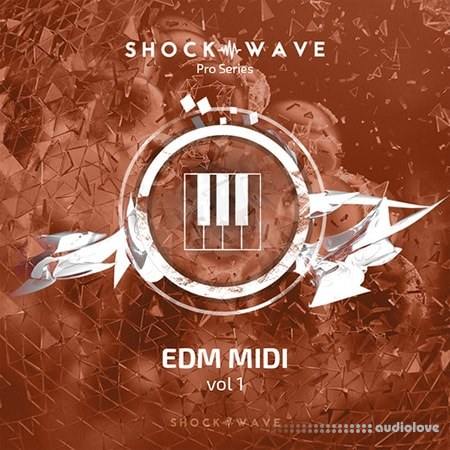 Shockwave Pro Series EDM MIDI Volume 1 WAV MiDi