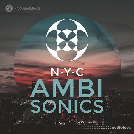 Pro Sound Effects Library NYC Ambisonics WAV
