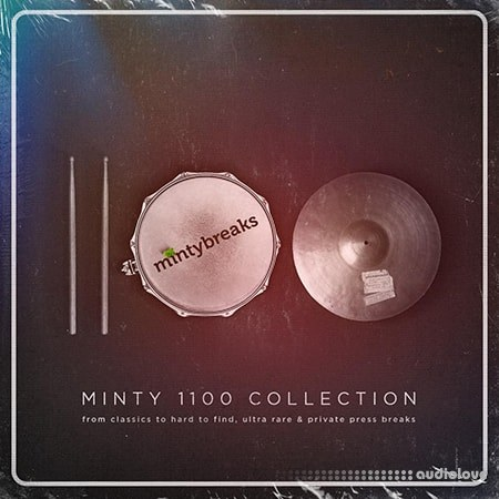 Minty Drums Presents Minty 1100 Breaks WAV