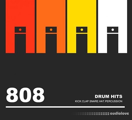 Weismann 808 Drum Hits WAV