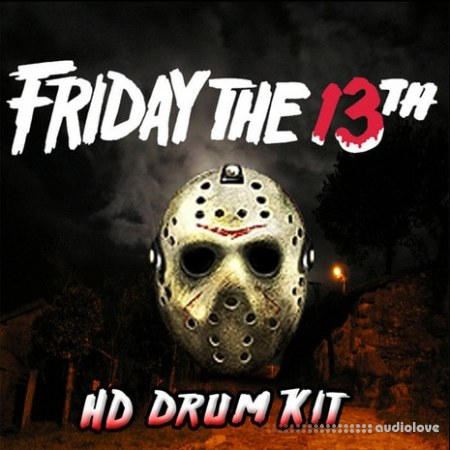 Misfit Digital Friday The 13th HD Drumkit WAV Synth Presets