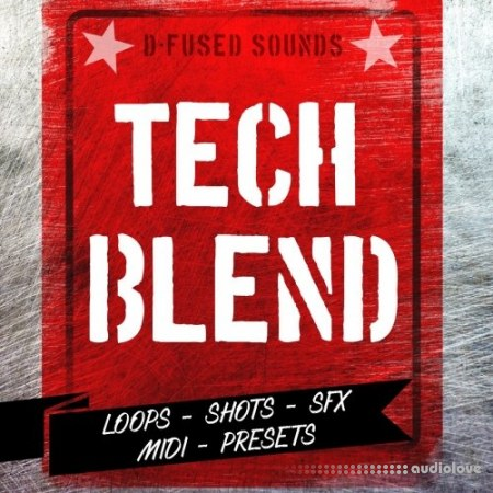 D-Fused Sounds Tech Blend WAV MiDi Synth Presets Battery