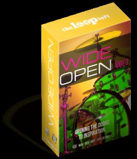 The Loop Loft Wide Open Drums Vol.3