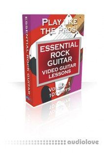 PG Music Video Guitar Lessons Essential Rock Guitar Volumes 1 and 2