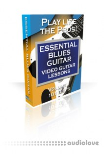 PG Music Video Guitar Lessons Essential Blues Guitar Volumes 1 and 2