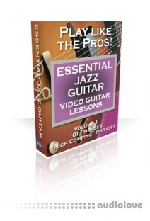 PG Music Video Guitar Lessons Essential Jazz Guitar Vol.1-3