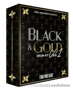 Paul Wise Beats Black and Gold Drum Kit Vol.1