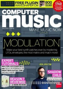 Computer Music 192 July 2013 - MODULATION (Magazine + DVD Content)