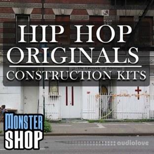 Monster Shop Hip Hop Originals Construction Kits