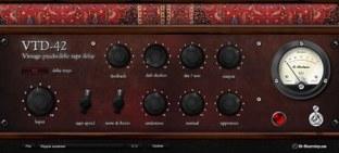 G-sonique Vintage Psychedelic Delay VTD-42