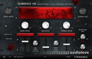 G-Sonique DUBSHOX Multi-Band Distortion