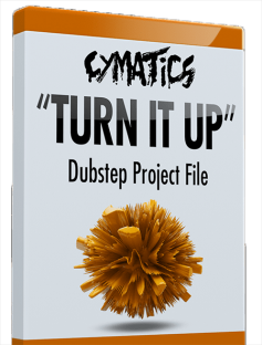 Cymatics Turn It Up Dubstep