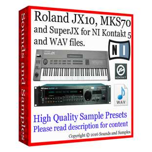 Sounds and Samples Roland JX 10 / MKS 70 / Super JX Samples