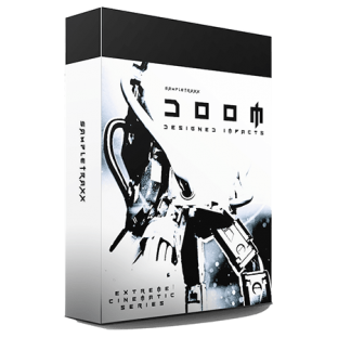 SampleTraxx Doom Designed Impacts Dark Percussive Elements