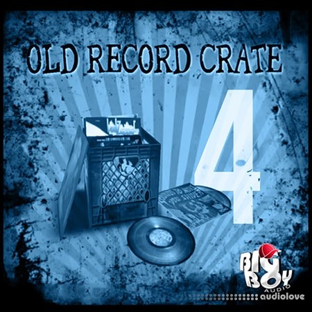 Big Boy Audio Old Record Crate 4 WAV