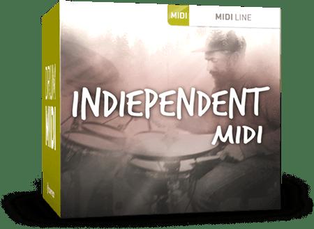 Toontrack Indiependent MIDI MiDi