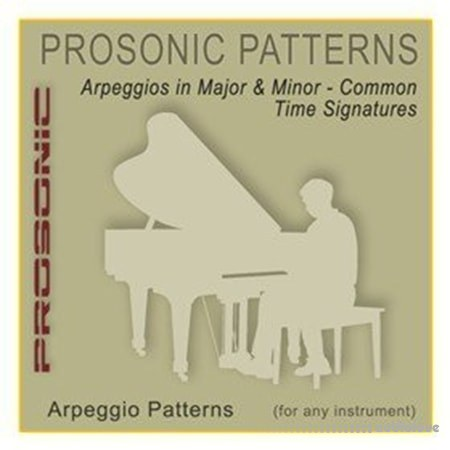 Prosonic Studios Midi Arpegio Series Major and Minor Arpeggio 1-18 MiDi WiN