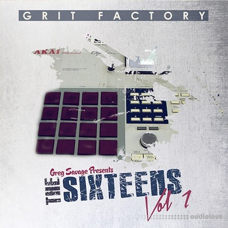 Greg Savage Grit Factory The Sixteens Vol.1 WAV