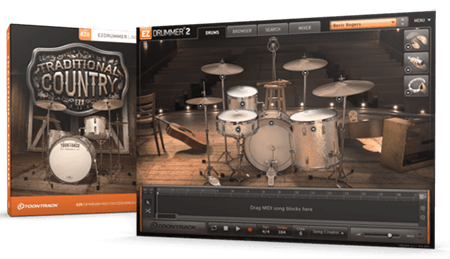Toontrack EZX2 Traditional Country v1.0.1 EZDrummer