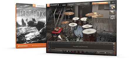 Toontrack EZX Post Rock Content and Grooves EZDrummer