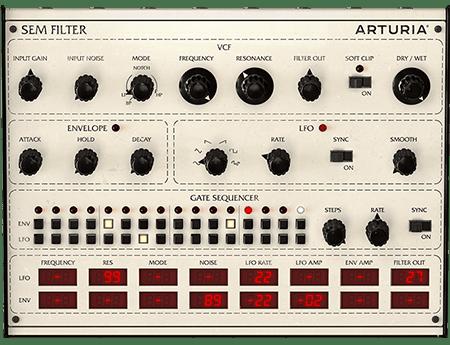Arturia SEM-Filter v1.1.0.389 CE / v1.0.0.252 WiN MacOSX