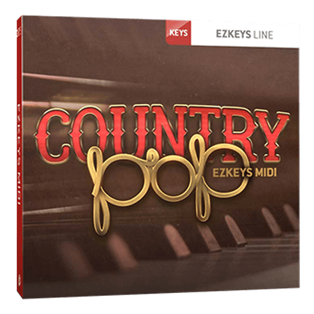Toontrack Country Pop EZkeys MIDI MiDi WiN