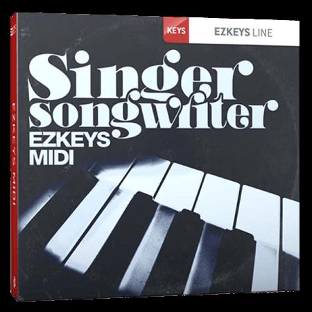 Toontrack Singer-Songwriter EZkeys MIDI MiDi WiN