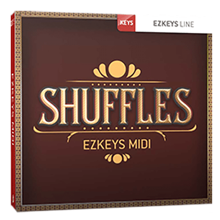 Toontrack Shuffles EZkeys MIDI MiDi WiN
