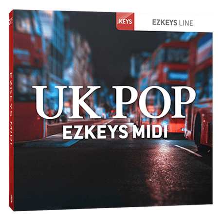 Toontrack UK Pop EZkeys MIDI MiDi WiN