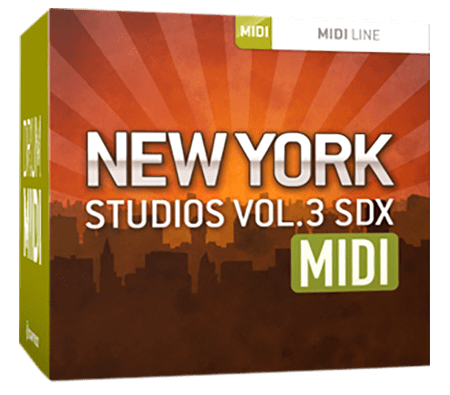 Toontrack New York Studios Vol.3 MiDi WiN