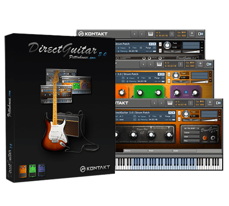 Pettinhouse Direct Guitar 3.0 KONTAKT