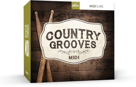 Toontrack Country Grooves MiDi WiN