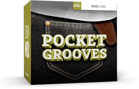 Toontrack Pocket Grooves MiDi WiN