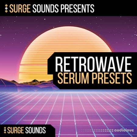 Surge Sounds Retrowave WAV MiDi Synth Presets