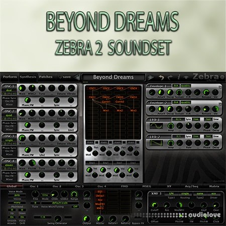 Triple Spiral Audio Beyond Dreams Synth Presets